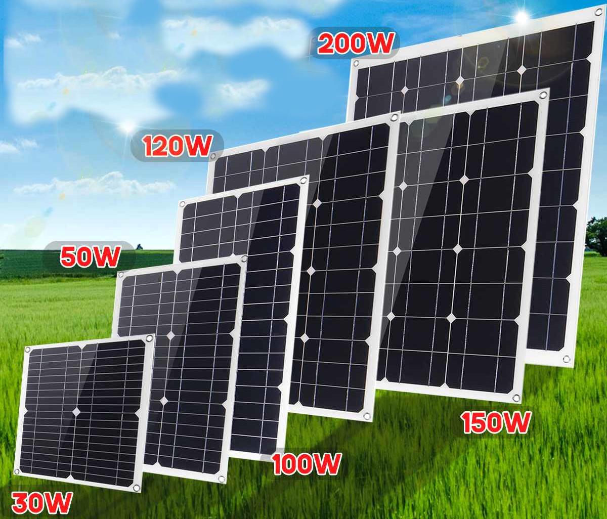 Solar panels 50W 100W 150W