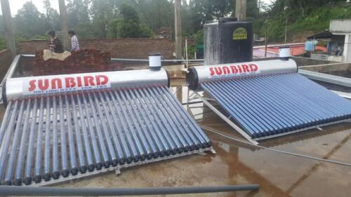 300 LT hot water system at Bandarawela