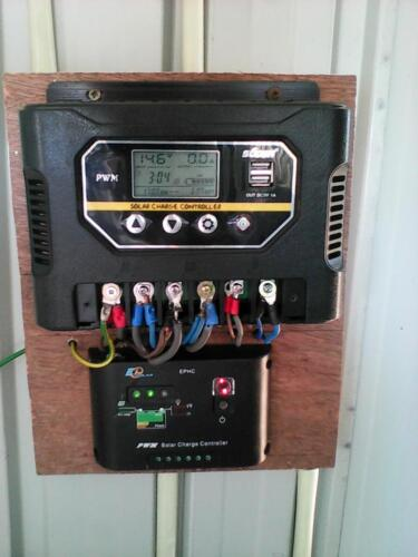 3 kW off-grid battery backup system at Mattala, Hambantota