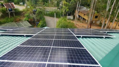 15 kW system at Senanayake Mawatha, Bandarawela