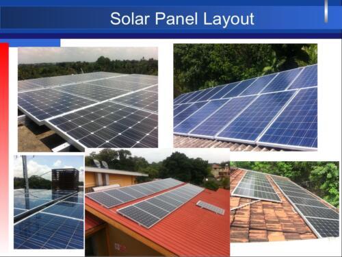 Solar Panel Layouts