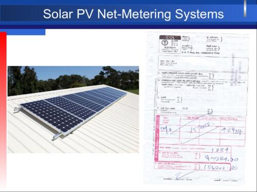 Solar PV Net-Metering Systems